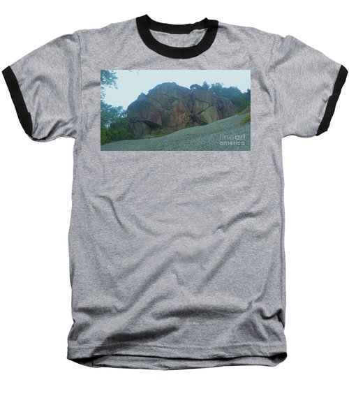 Baseball T-Shirt featuring the photograph Rainbow Rock by John Williams