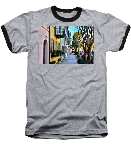 Rainbow Row Hdr Baseball T-Shirt