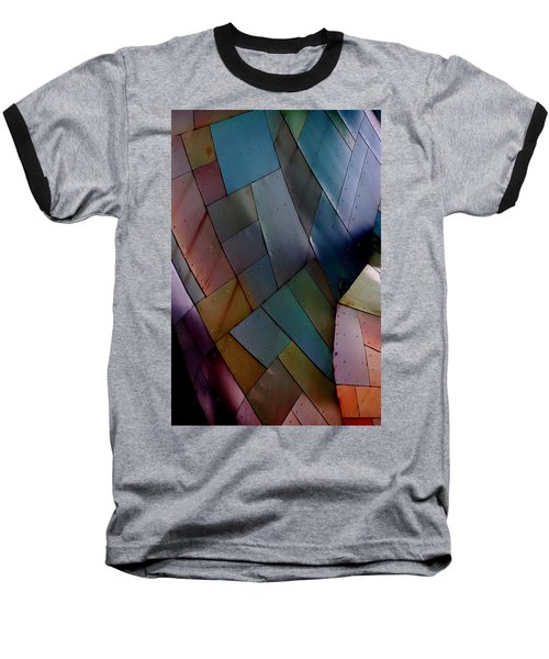 Rainbow Shingles Baseball T-Shirt