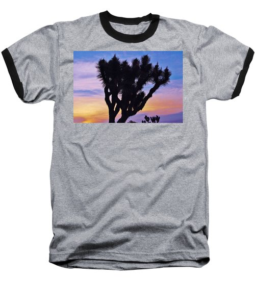 Baseball T-Shirt featuring the photograph Rainbow Yucca by Angela J Wright