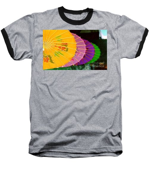Baseball T-Shirt featuring the photograph New Orleans Rainbowellas by Michael Hoard
