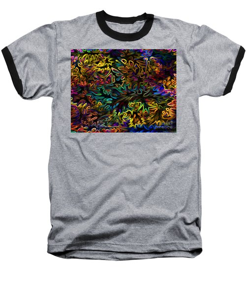 Rainbows In The Forest Baseball T-Shirt