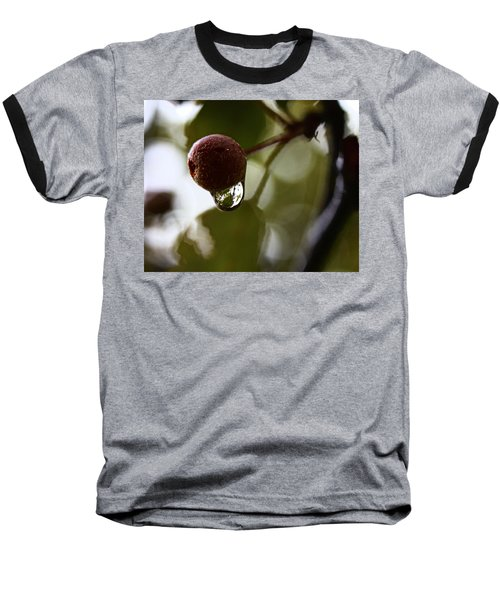 Raindrop Reflection 1 Baseball T-Shirt