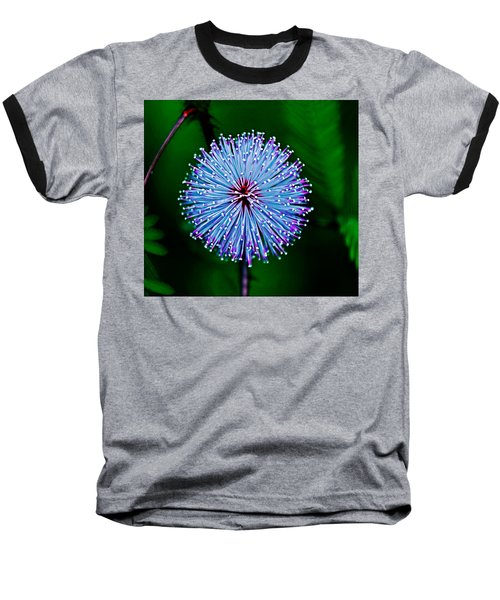 Rainforest Flower Baseball T-Shirt