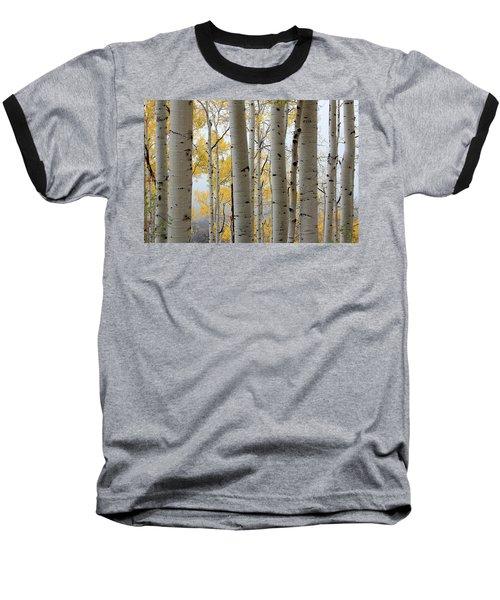 Rainy Day Aspen  Baseball T-Shirt
