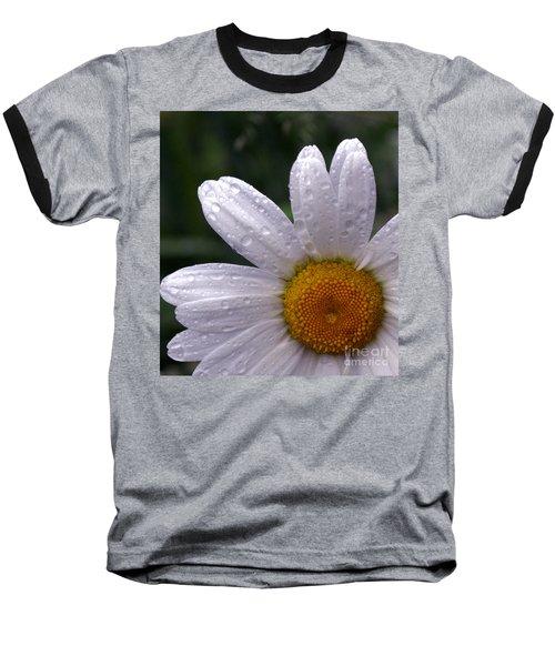 Rainy Day Daisy Baseball T-Shirt