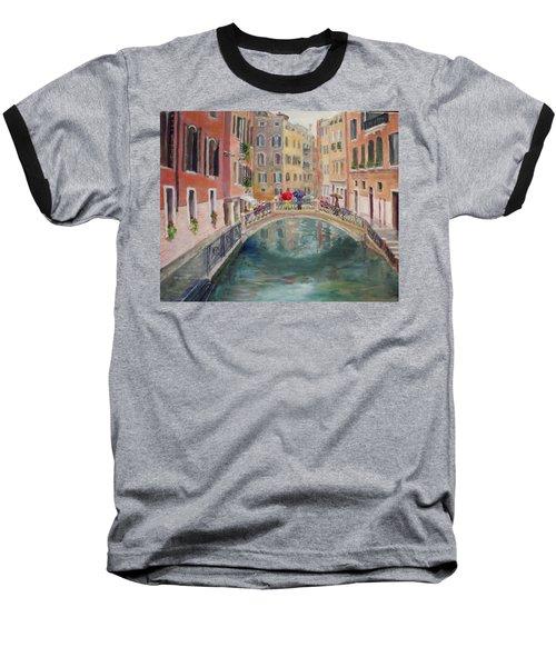 Rainy Day In Venice Baseball T-Shirt