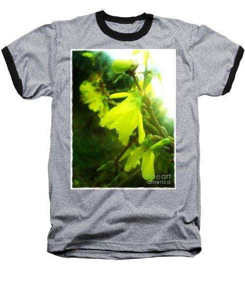 Baseball T-Shirt featuring the photograph Rainy Dream by Nina Ficur Feenan