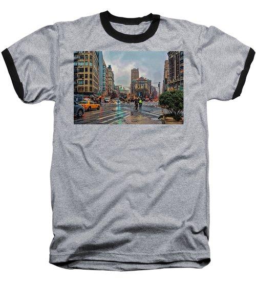 X-ing Broadway Baseball T-Shirt