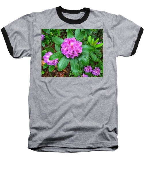 Rainy Rhodo Baseball T-Shirt