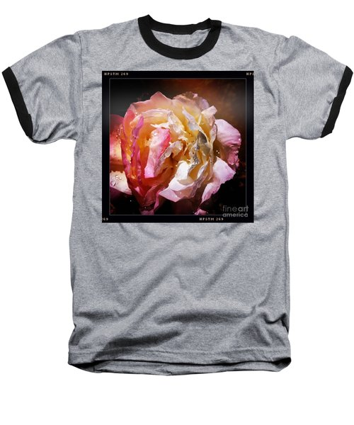 Rainy Rose Baseball T-Shirt