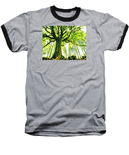 Raised By The Light Baseball T-Shirt