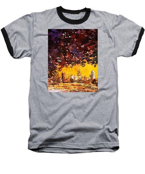 Raleigh Downtown Baseball T-Shirt by Ryan Fox