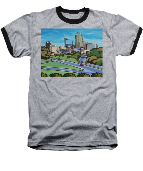 Raleigh Skyline 2 Baseball T-Shirt