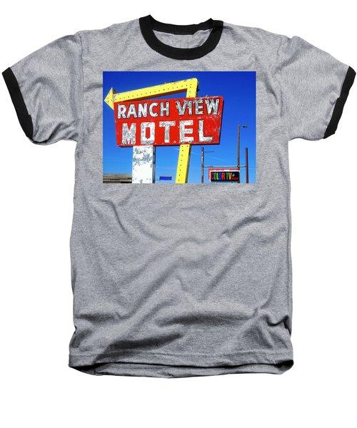 Ranch View Motel Baseball T-Shirt