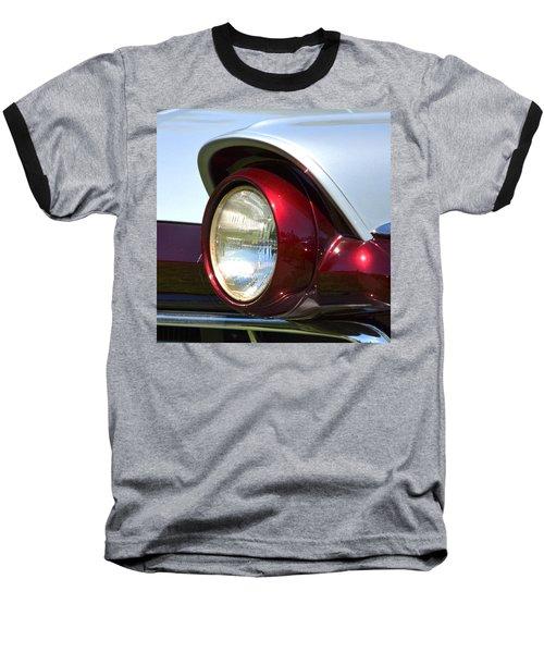 Ranch Wagon Headlight Baseball T-Shirt by Dean Ferreira