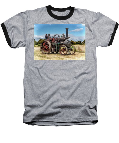 Ransomes Steam Engine Baseball T-Shirt