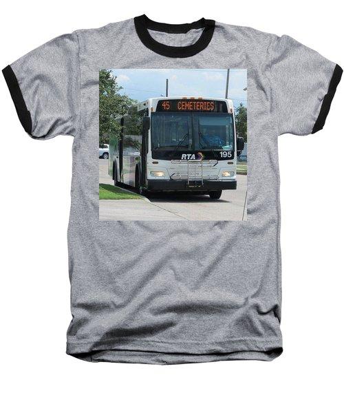 Cemeteries - Rapid Transit Authority - New Orleans La Baseball T-Shirt