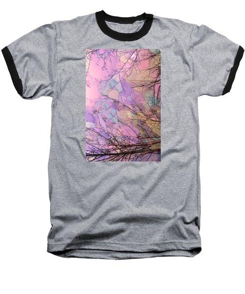 Rapture Baseball T-Shirt by Kathy Bassett