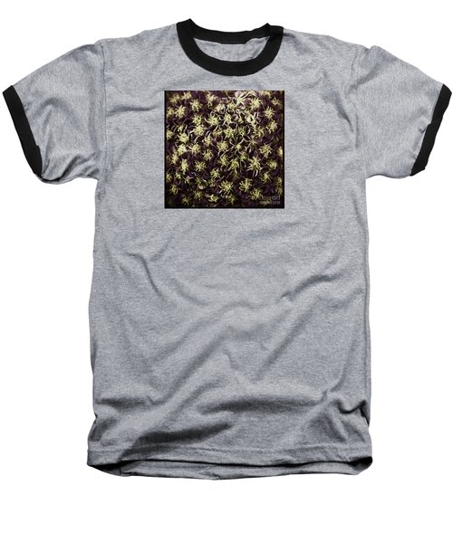 Baseball T-Shirt featuring the photograph Raspberry Circles by Jean OKeeffe Macro Abundance Art