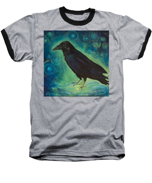 Space Raven Baseball T-Shirt