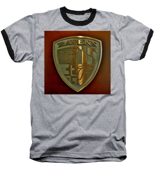 Ravens Coat Of Arms Baseball T-Shirt