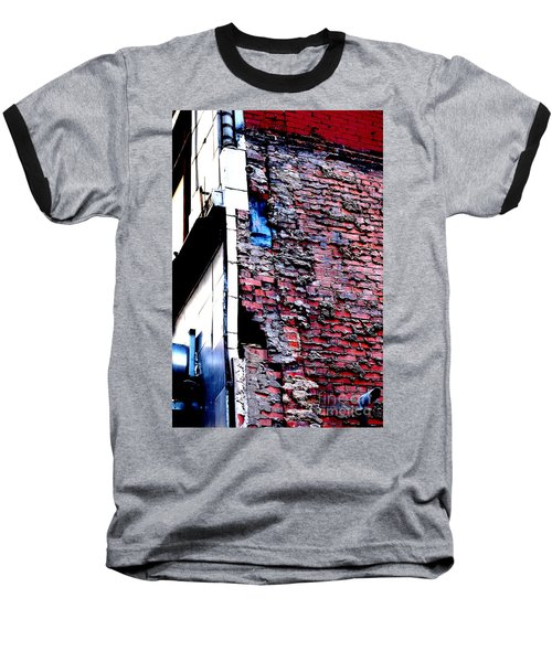Baseball T-Shirt featuring the photograph Raw Brick Bones by Christiane Hellner-OBrien