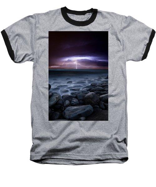 Raw Power Baseball T-Shirt by Jorge Maia