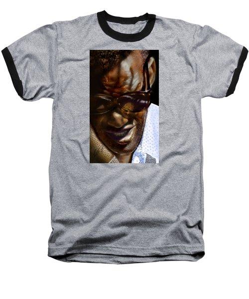 Ray Charles-beyond Sight 2 Baseball T-Shirt