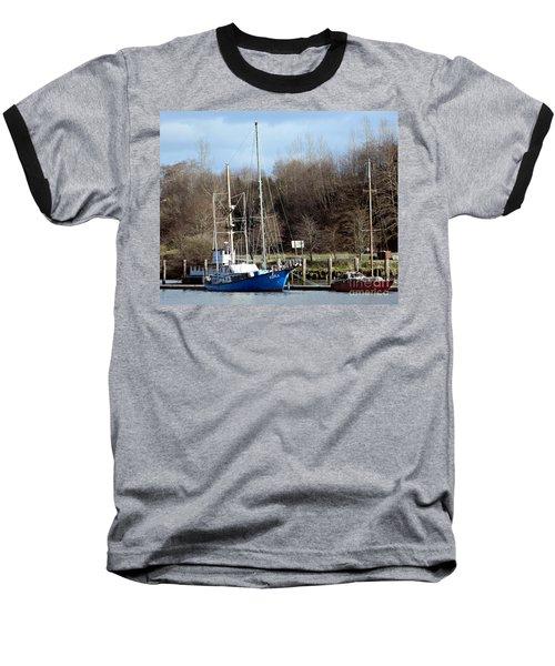 Raymond Fishing Boats Baseball T-Shirt by Chalet Roome-Rigdon