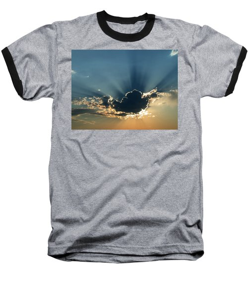 Rays Of Light Baseball T-Shirt