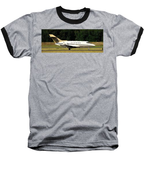 Raytheon Hawker 800xp Baseball T-Shirt by Aaron Berg