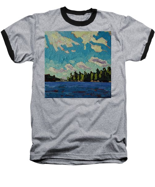 Reach To Grippen Baseball T-Shirt by Phil Chadwick