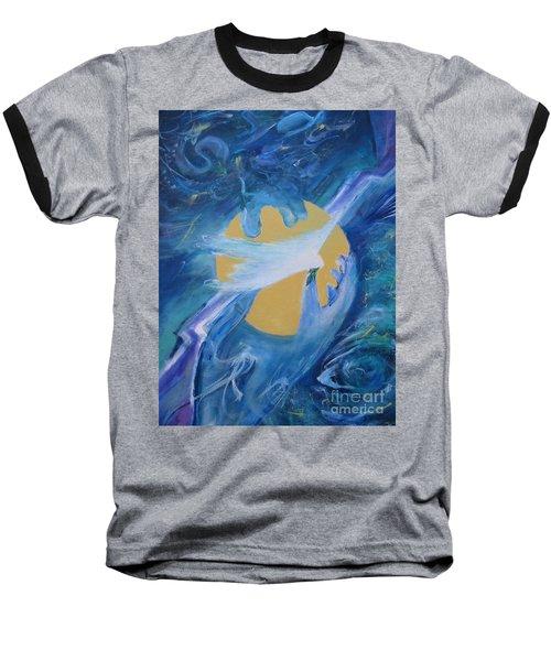 Reaching For Peace Baseball T-Shirt