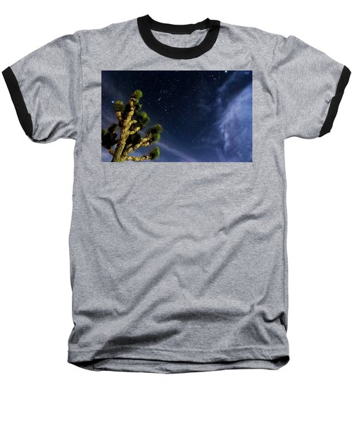 Baseball T-Shirt featuring the photograph Reaching For The Stars by Angela J Wright