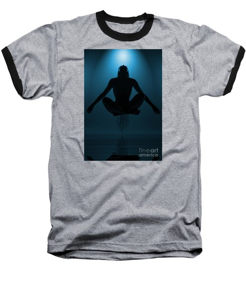 Baseball T-Shirt featuring the photograph Reaching Nirvana.. by Nina Stavlund