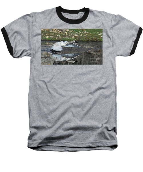 Baseball T-Shirt featuring the photograph Ready For Launch by Sam Rosen