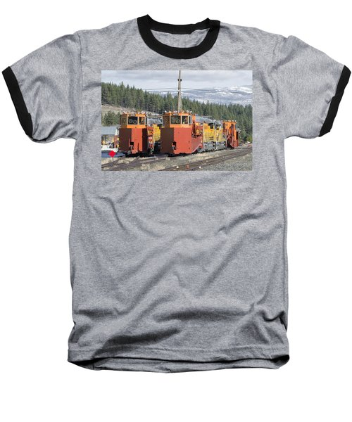 Ready For More Snow At Donner Pass Baseball T-Shirt