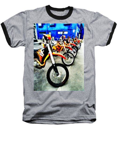 Ready To Ride Baseball T-Shirt