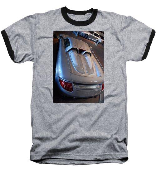 Rear Pov Baseball T-Shirt by John Schneider