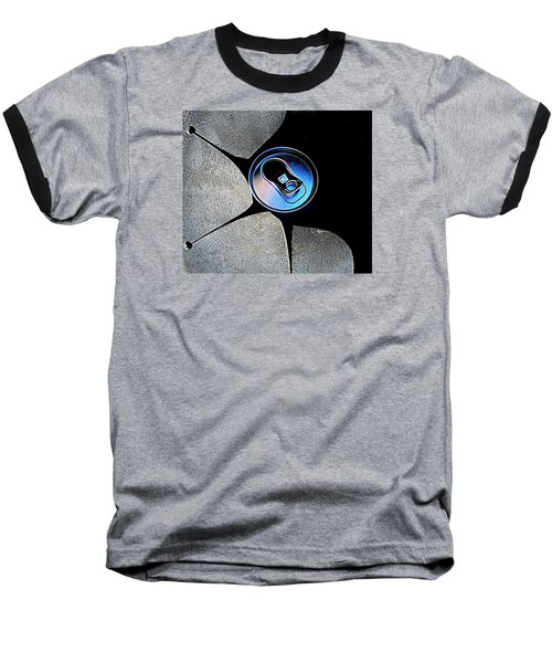 Recycled Can In A Recycle Bin Baseball T-Shirt by John King