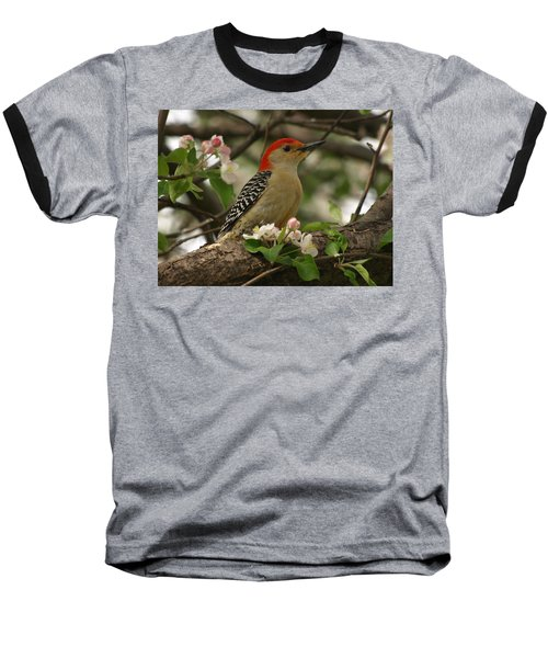 Baseball T-Shirt featuring the photograph Red-bellied Woodpecker by James Peterson