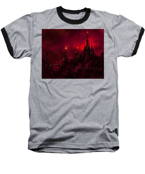 Red Castle Baseball T-Shirt