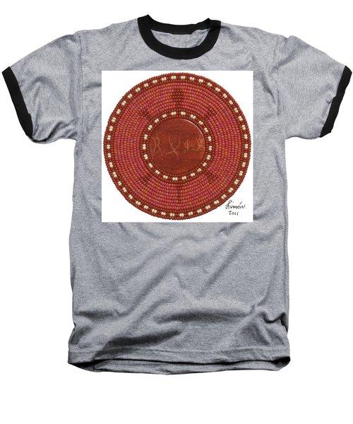 Red Coral Baseball T-Shirt