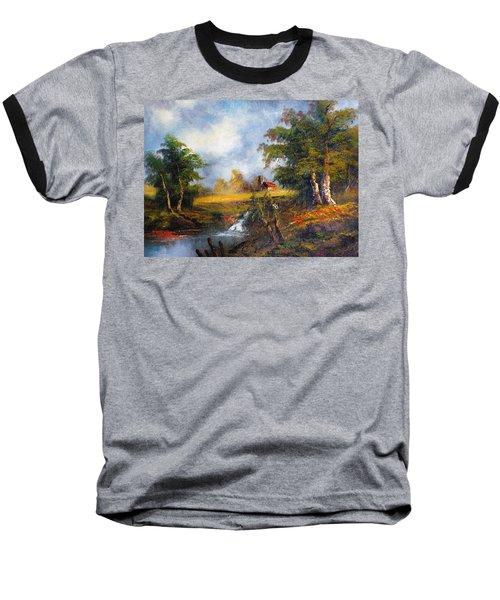 Red Cottage Baseball T-Shirt