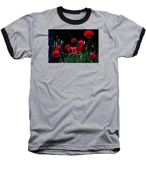 Red Dance Baseball T-Shirt