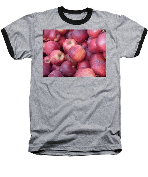 Baseball T-Shirt featuring the photograph Red Delicious by Joseph Skompski