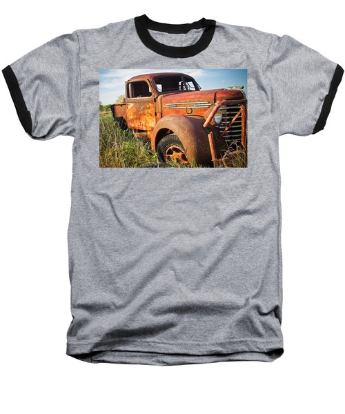 Baseball T-Shirt featuring the photograph Red Diamond by Steven Bateson