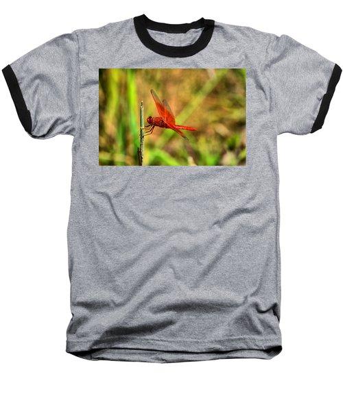 Red Dragon Dreams Baseball T-Shirt