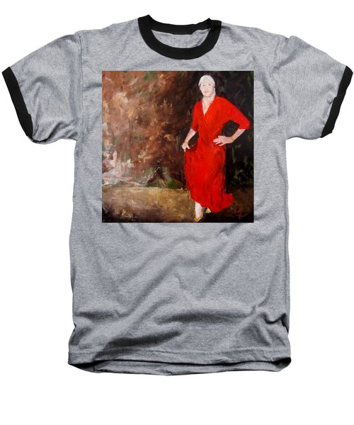 Red Ellegance Baseball T-Shirt
